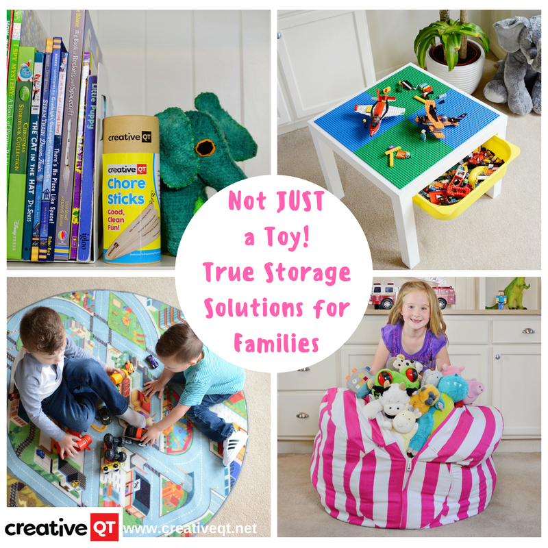 Not JUST a Toy! True Storage Solutions for Families