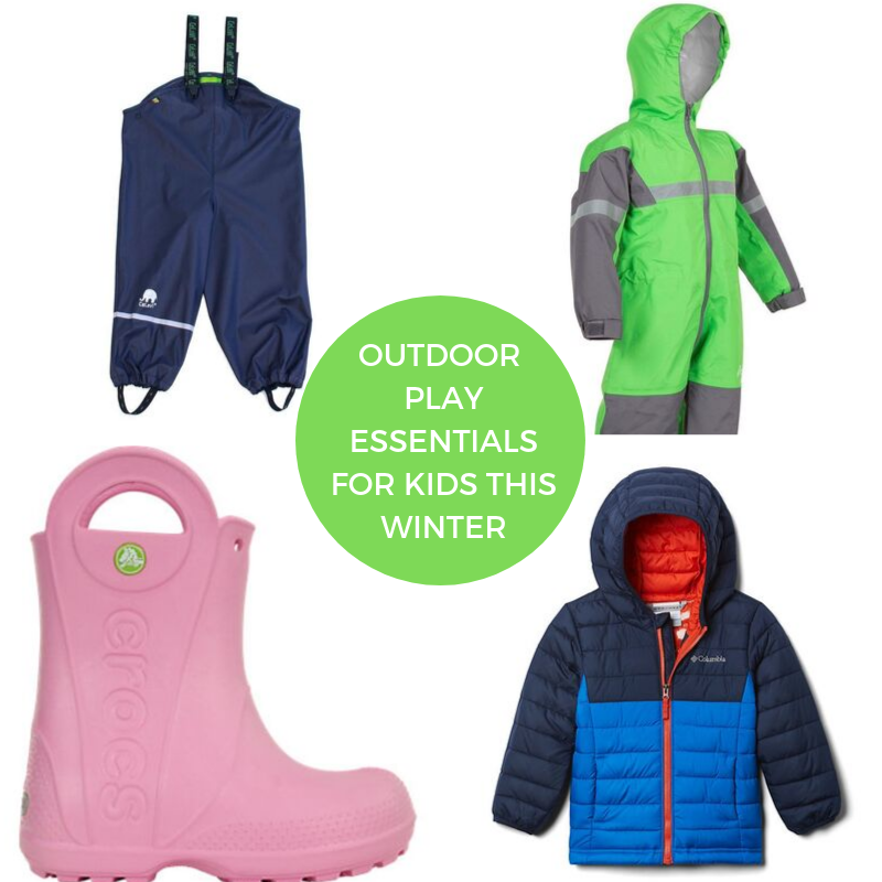 Outdoor Play Essentials for Kids this Winter