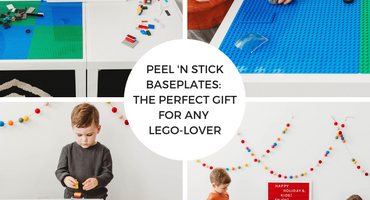 Peel 'n Stick Baseplates: the perfect gift for any LEGO-lover!