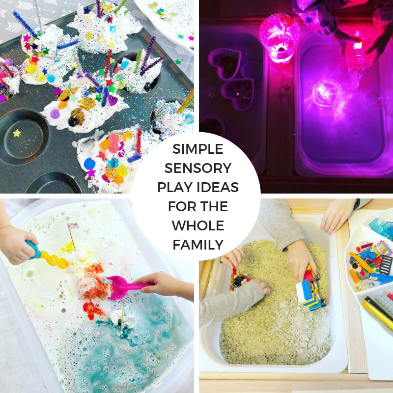 Simple Sensory Play Ideas for the Whole Family