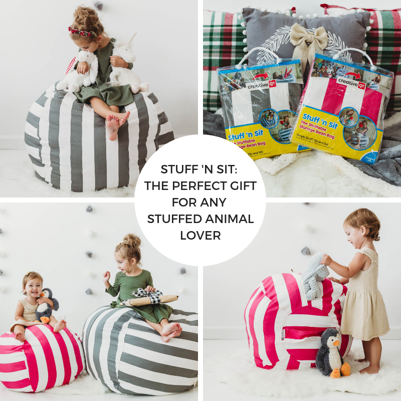 Stuff 'n Sit: the perfect gift for any stuffed animal lover!