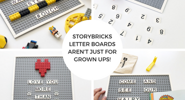 StoryBricks Letter Boards Aren't Just for Grown Ups!