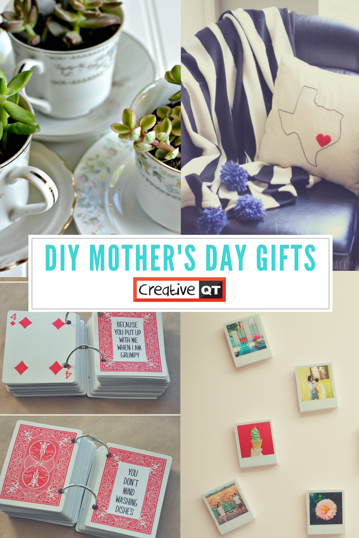 Pinterest Round Up Homemade Mother S Day Gifts Creative Qt