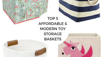 Top 5 Affordable & Modern Toy Storage Containers
