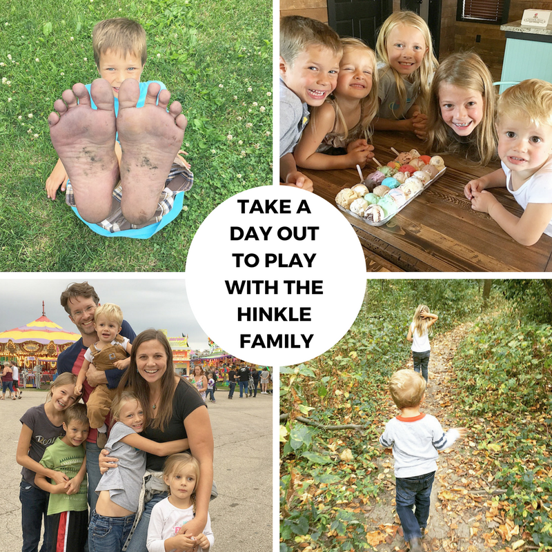 Take a Day Out to Play with the Hinkle Family!