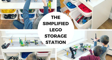 LEGO Storage Solved! DIY Simplified LEGO Storage Station