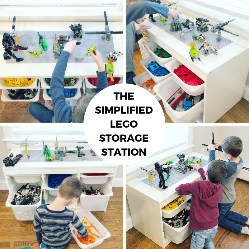 Lego Storage Solved Diy Simplified Lego Storage Station Creative Qt