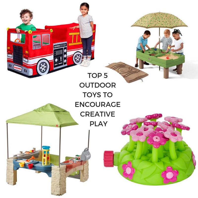 Top 5 Outdoor Toys to Encourage Creative Play