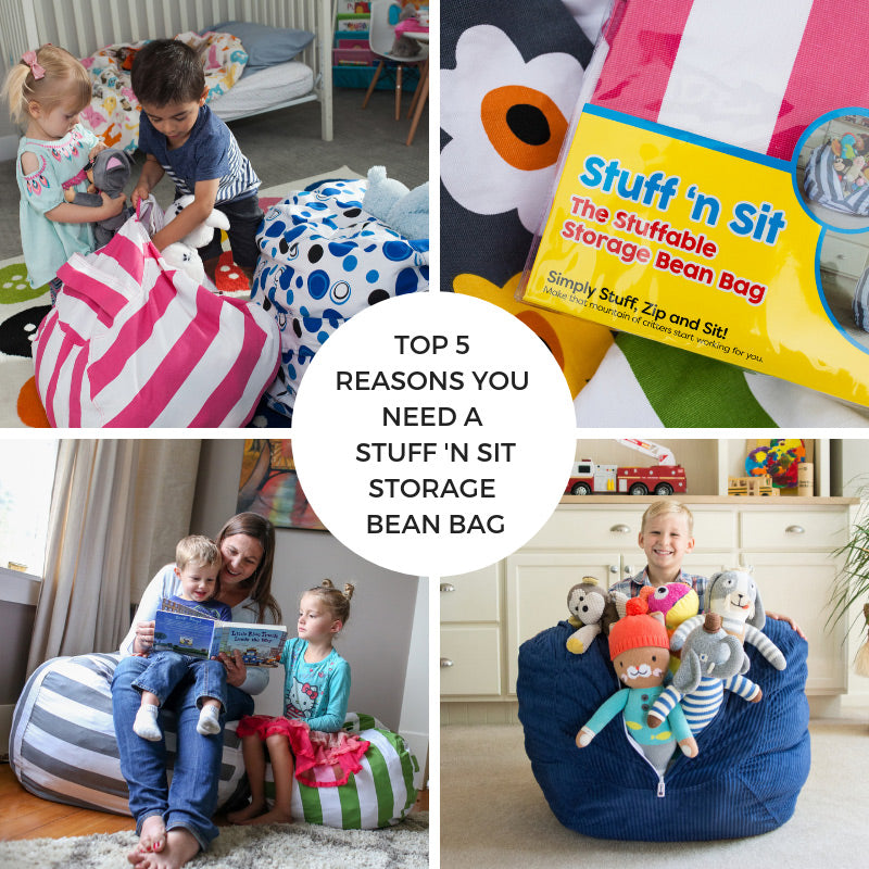 Top 5 Reasons You Need A Stuff 'n Sit Storage Bean Bag
