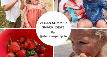 Vegan Summer Snack Ideas by @sheridanpartyof4