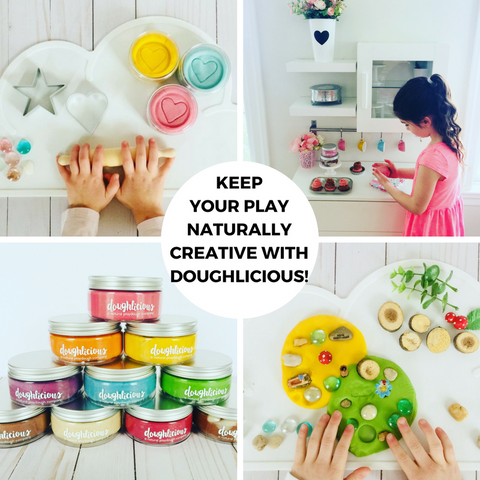 Keep your Play Naturally Creative with Doughlicious!