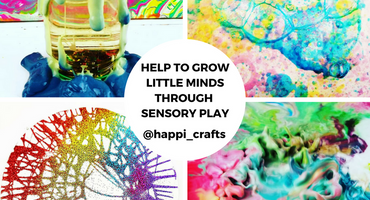 Help to Grow Little Minds Through Sensory Play