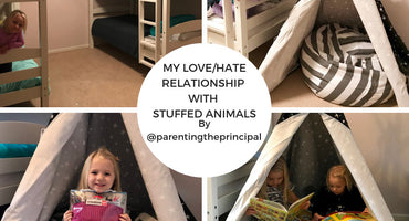 My Love / Hate Relationship with Stuffed Animals by Parenting the Principal