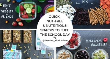 Quick, Nut-free, and Nutritious: Snacks to Fuel the School Day
