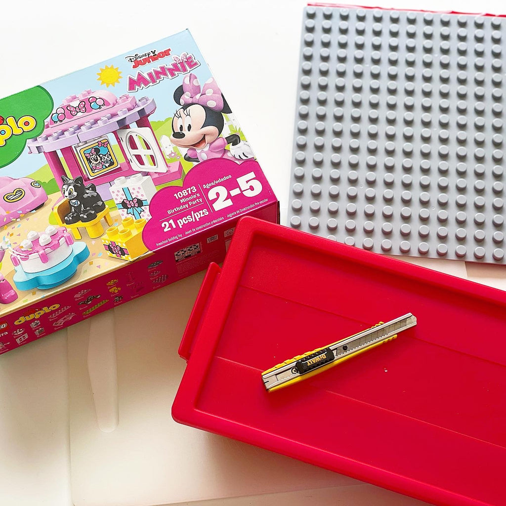 On-the-go DUPLO® Compatible Play Container