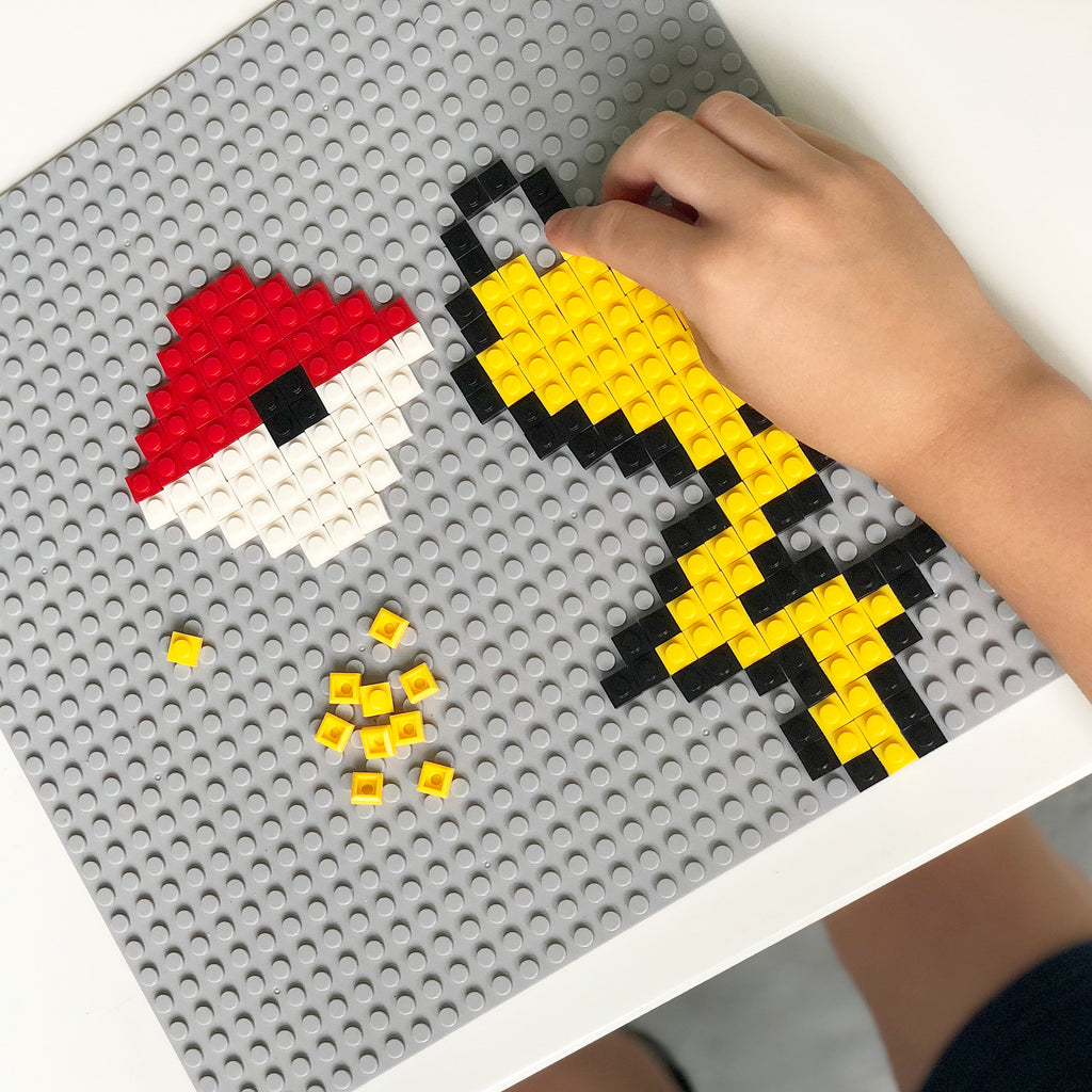 Elementary Aged Pixel Brick Prompts