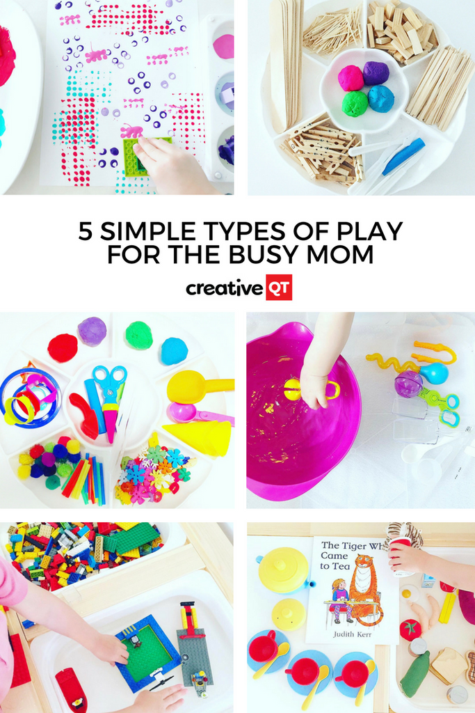 Five Simple Types of Play for the Busy Mom