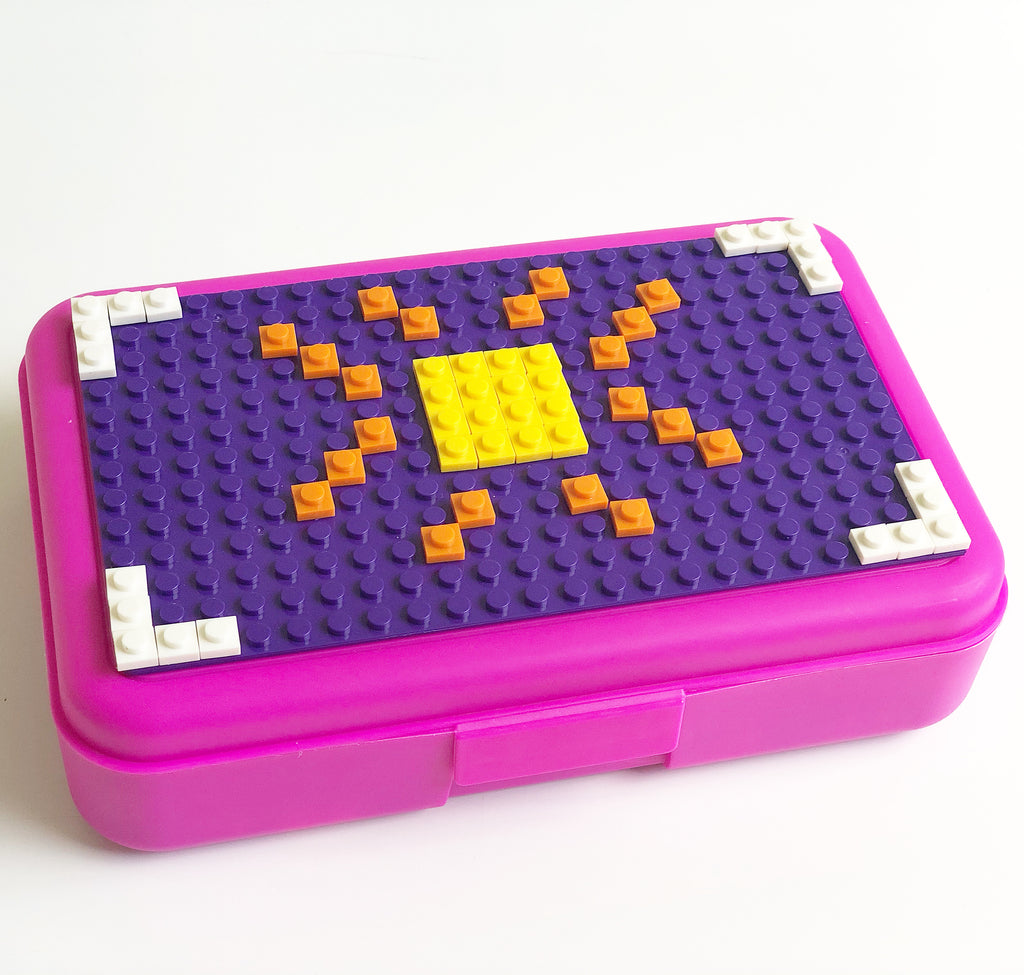 DIY Pixel Art Travel Box