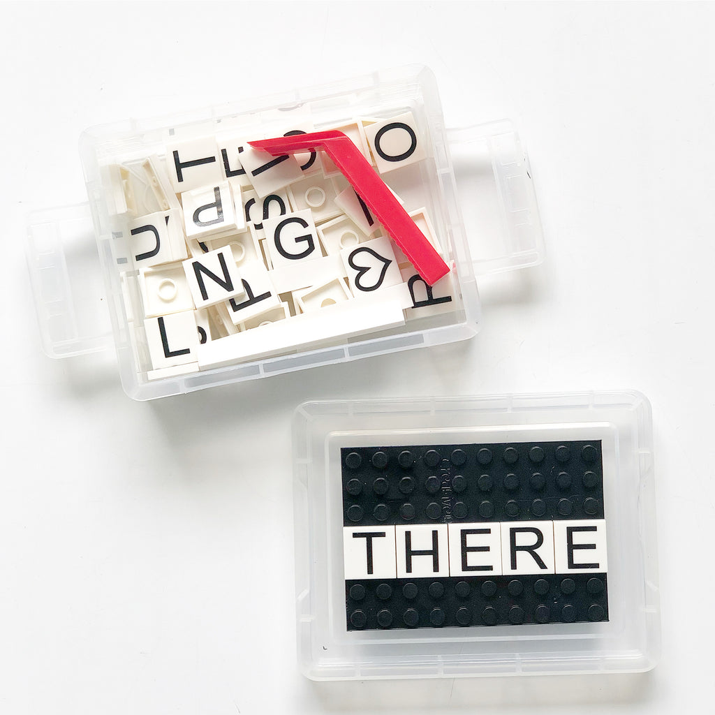 DIY Mini Word Boxes