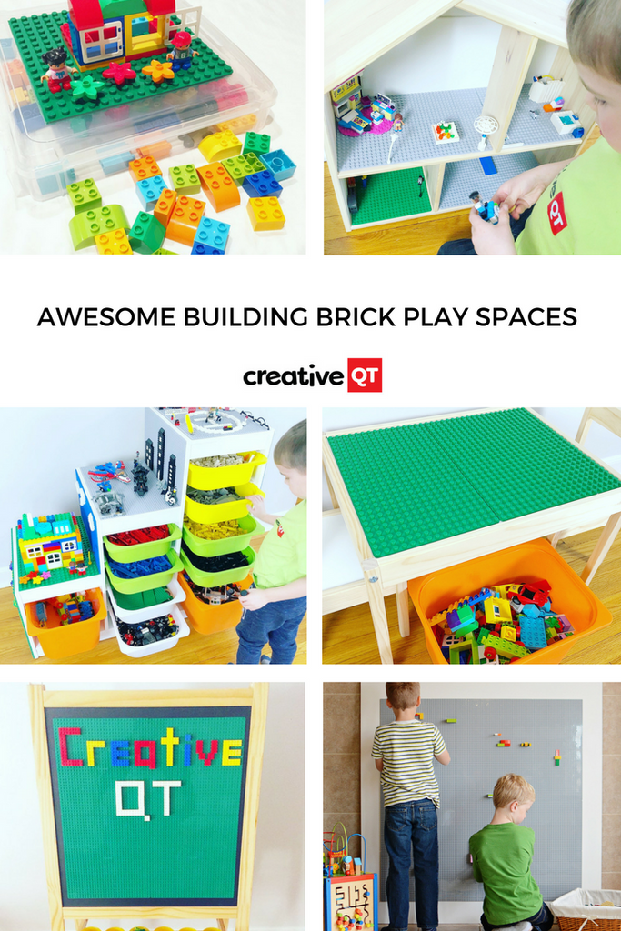 Awesome Building Brick Play Spaces Creative Qt