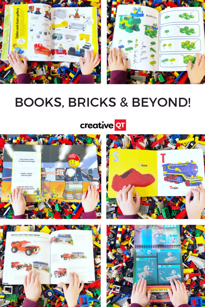Lego and reading activities for kids