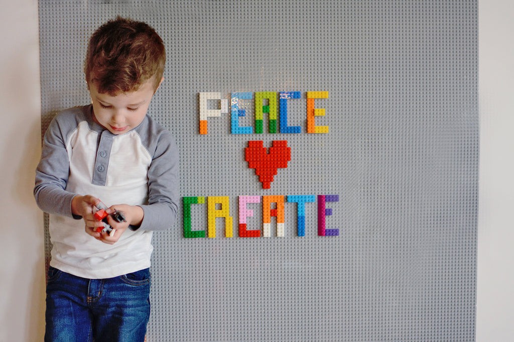 How To Build a LEGO Compatible Play Wall