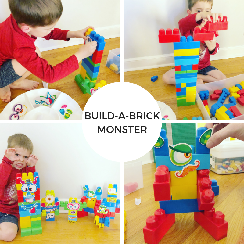 Build-a-Brick Monster!