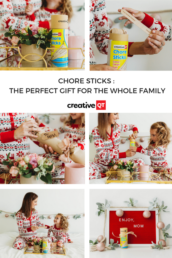 Chore Sticks- the perfect gift for the whole family!