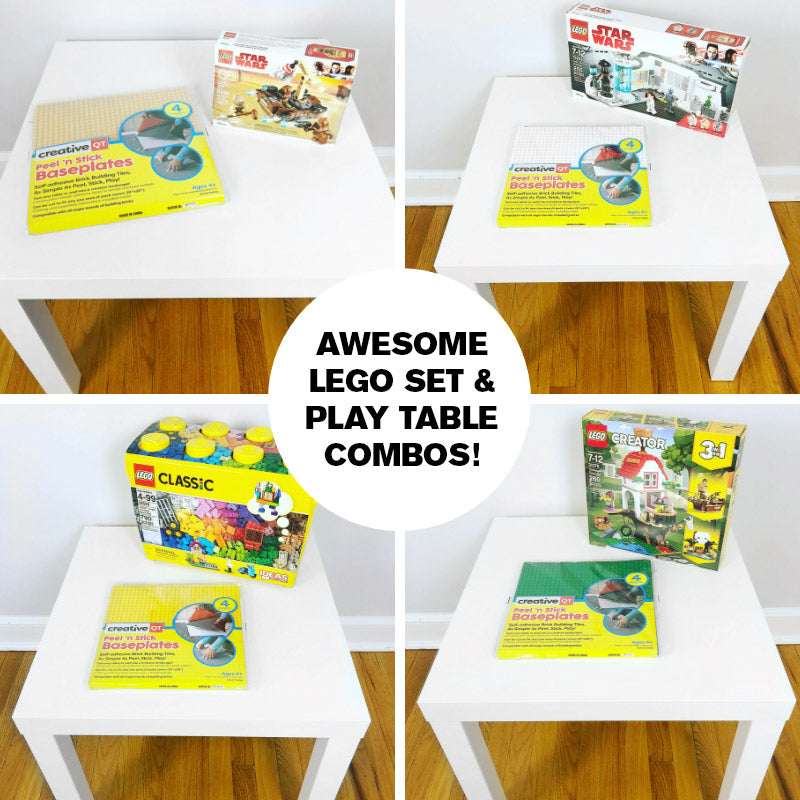 Peel, Stick, Play! Awesome LEGO Set & Play Table Combinations!