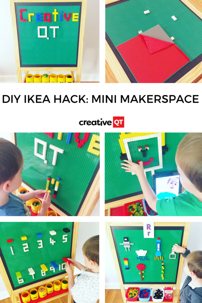 Peel, Stick, Play & Learn- Inspiring DIY Building Brick Projects for your Classroom