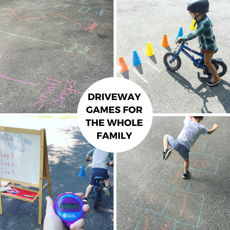 Driveway Games for the Whole Family
