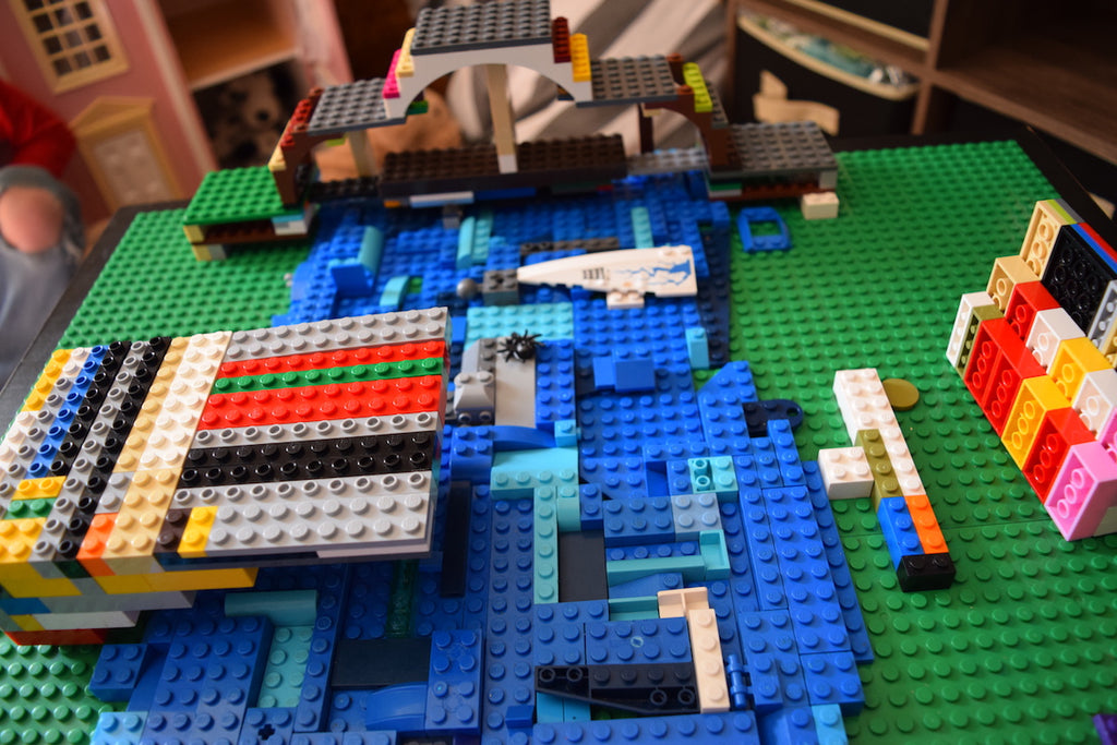 Family STEAM Challenge: Engineering LEGO Bridges