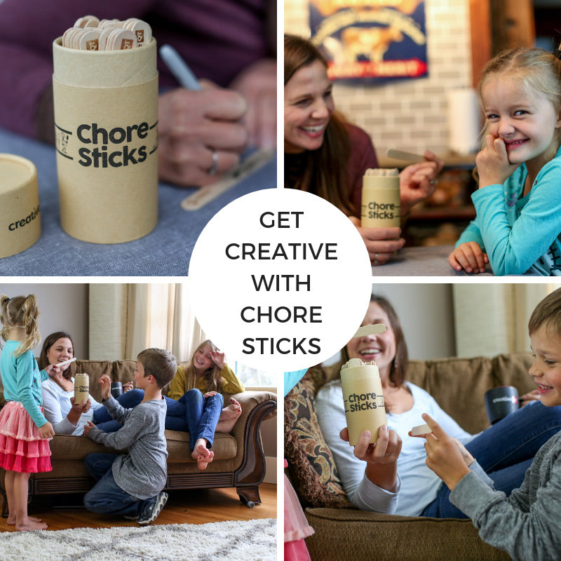 Get Creative with Chore Sticks: 5 fun ways to use your chore prompts!