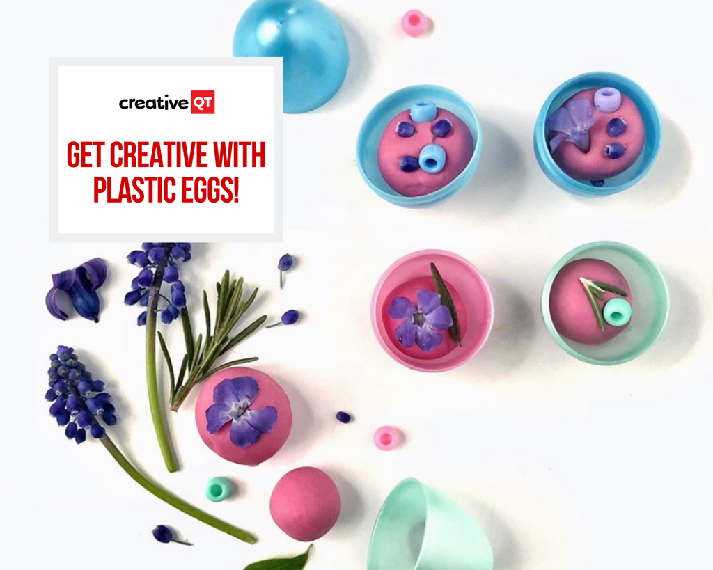 Get Creative with Plastic Easter Eggs!