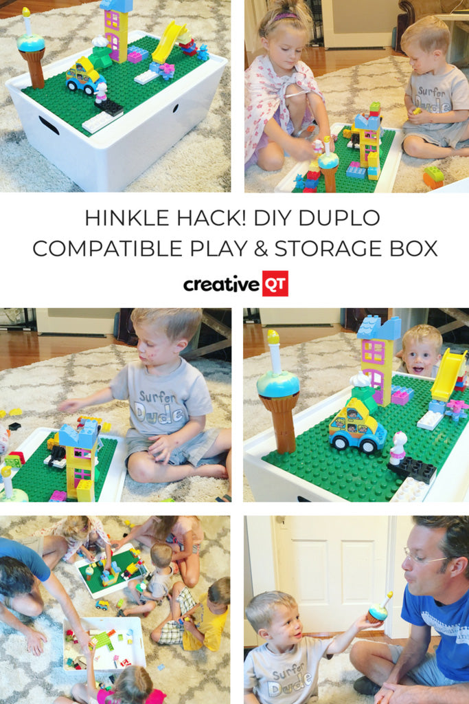 DIY DUPLO Play & Storage Box