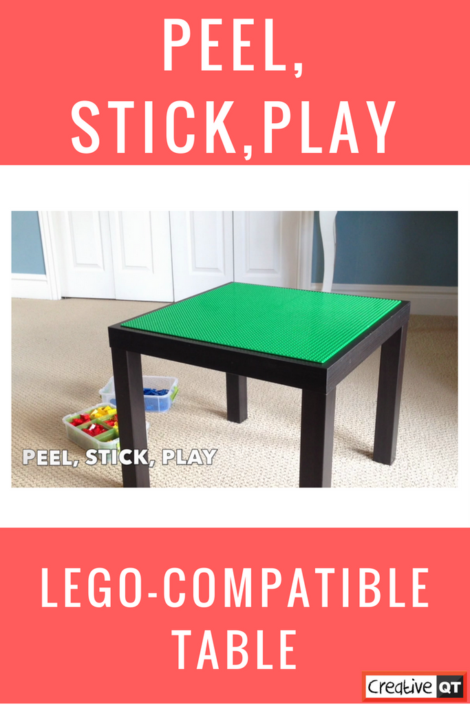 How To Make A Diy Ikea Hack Lego Compatible Table Creative Qt