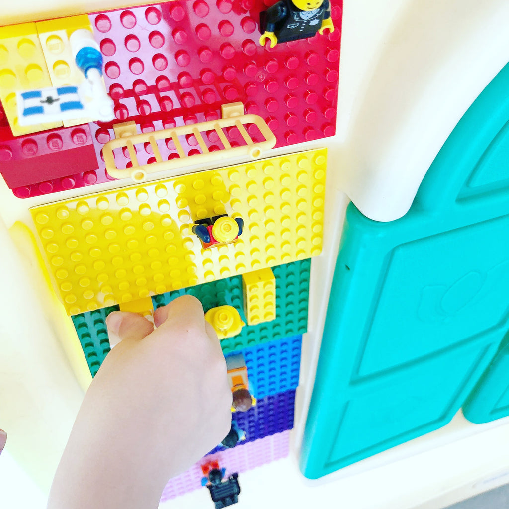 Play House Rainbow Building Brick Wall