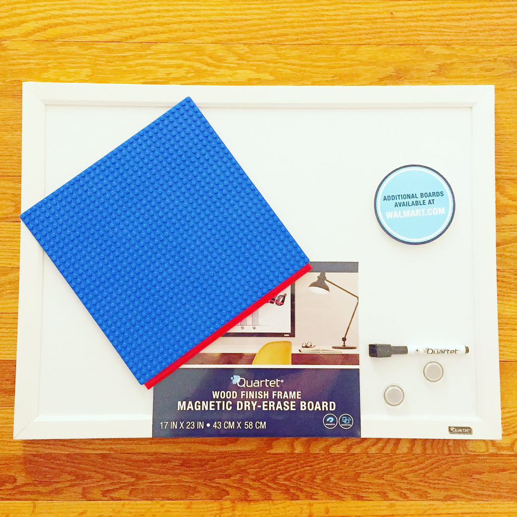 How To Build a Portable Whiteboard Makerspace