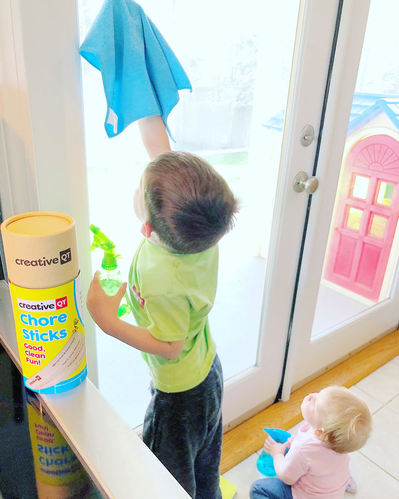 Chore Sticks Save the Day... & this Mama's Sanity!