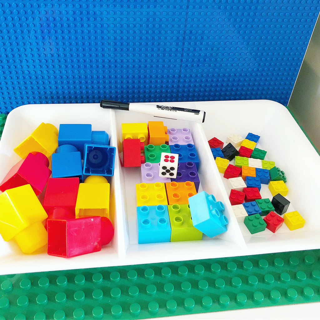 5 Simple Ways to Learn Numbers with Building Bricks