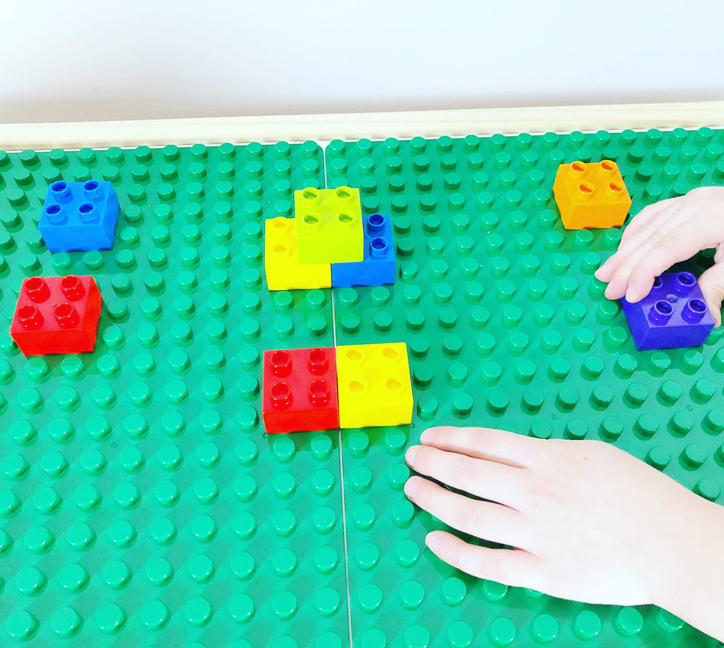 Family STEAM Challenge: Learning Colors with DUPLOs