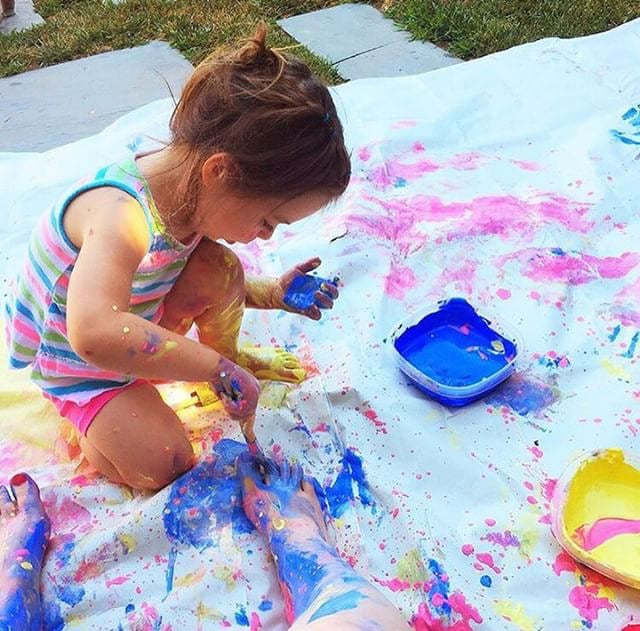 Beat the Heat with Messy Play & Art!
