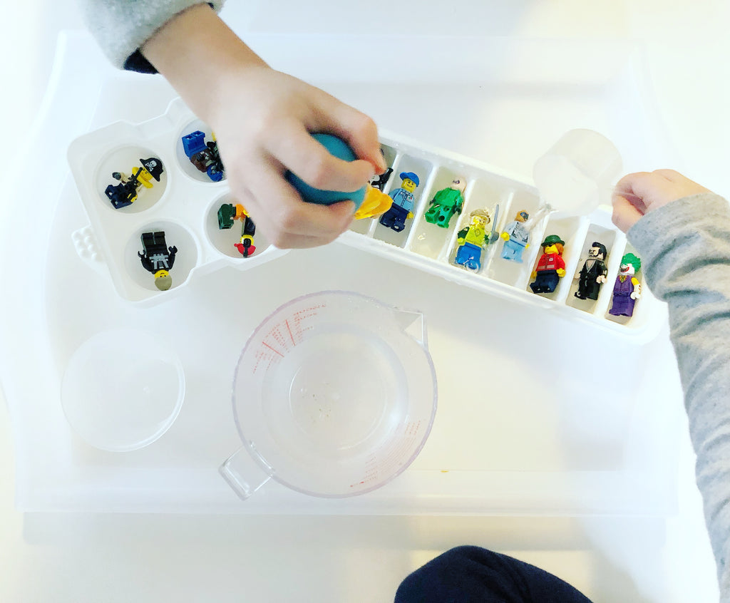 Get Messy with LEGOs: Frozen Minifigures