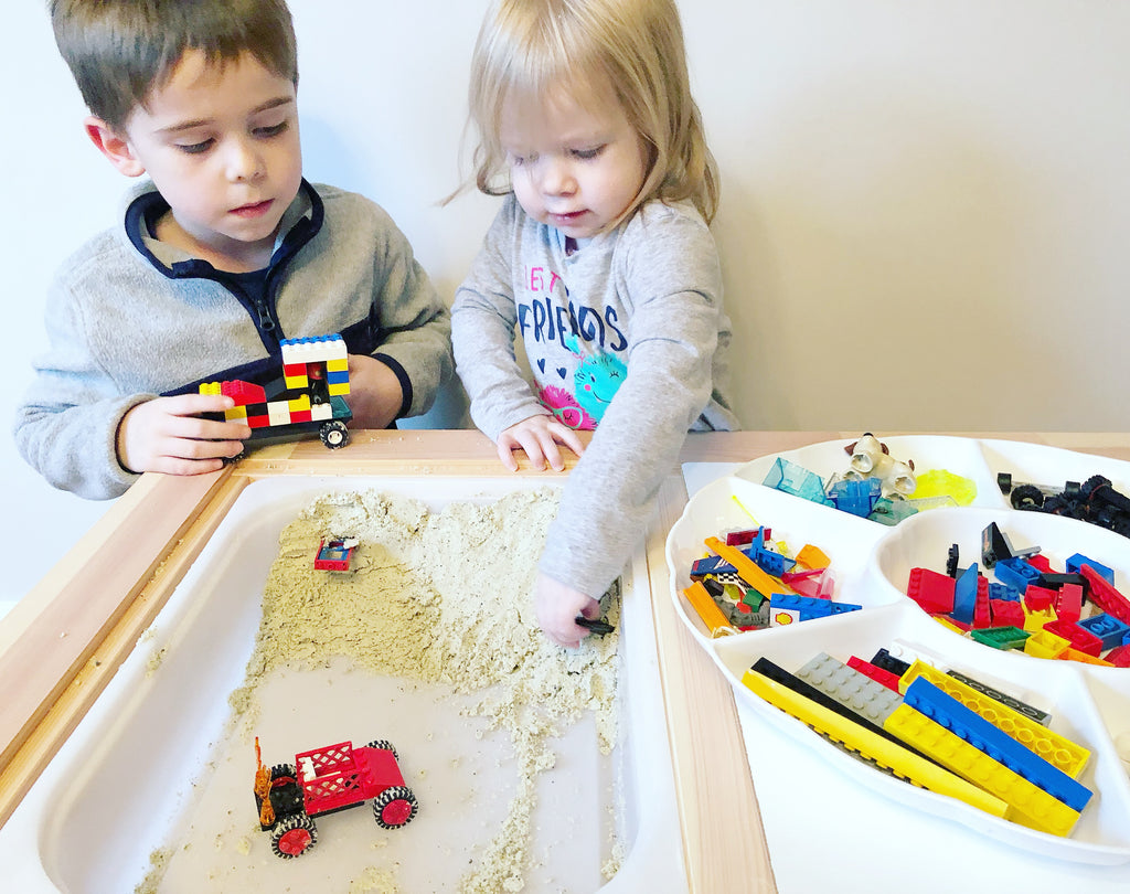 Get Messy with LEGOs: Dirt Racing!