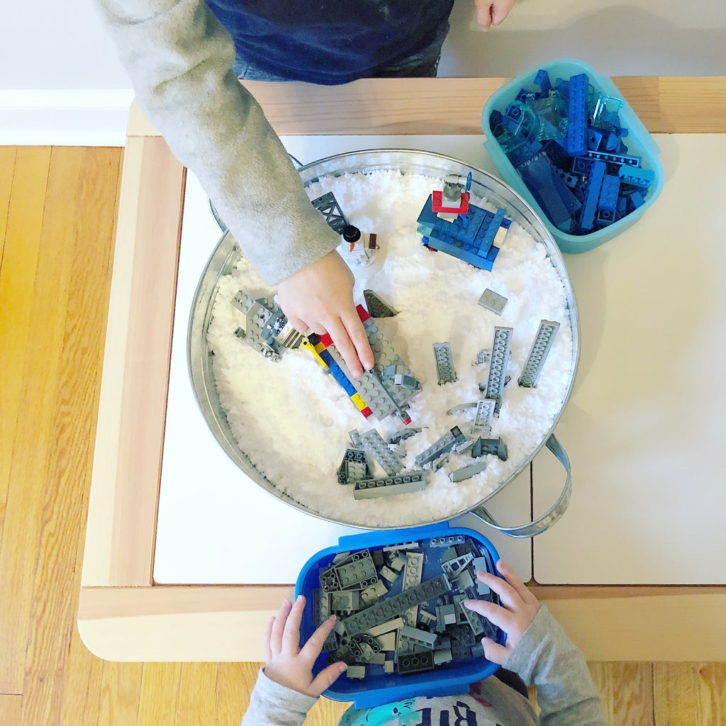 Get Messy with LEGOs: Arctic Adventures