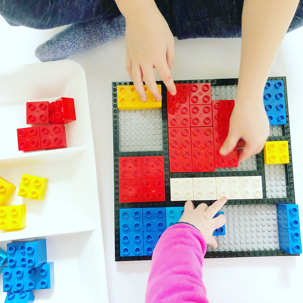 Family STEAM Challenge: Abstract DUPLO Art