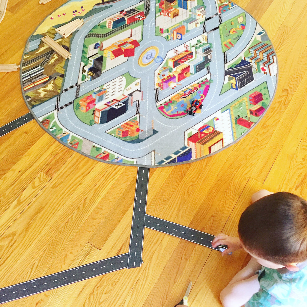imaginative play ideas with the funfield city play rug creative qt