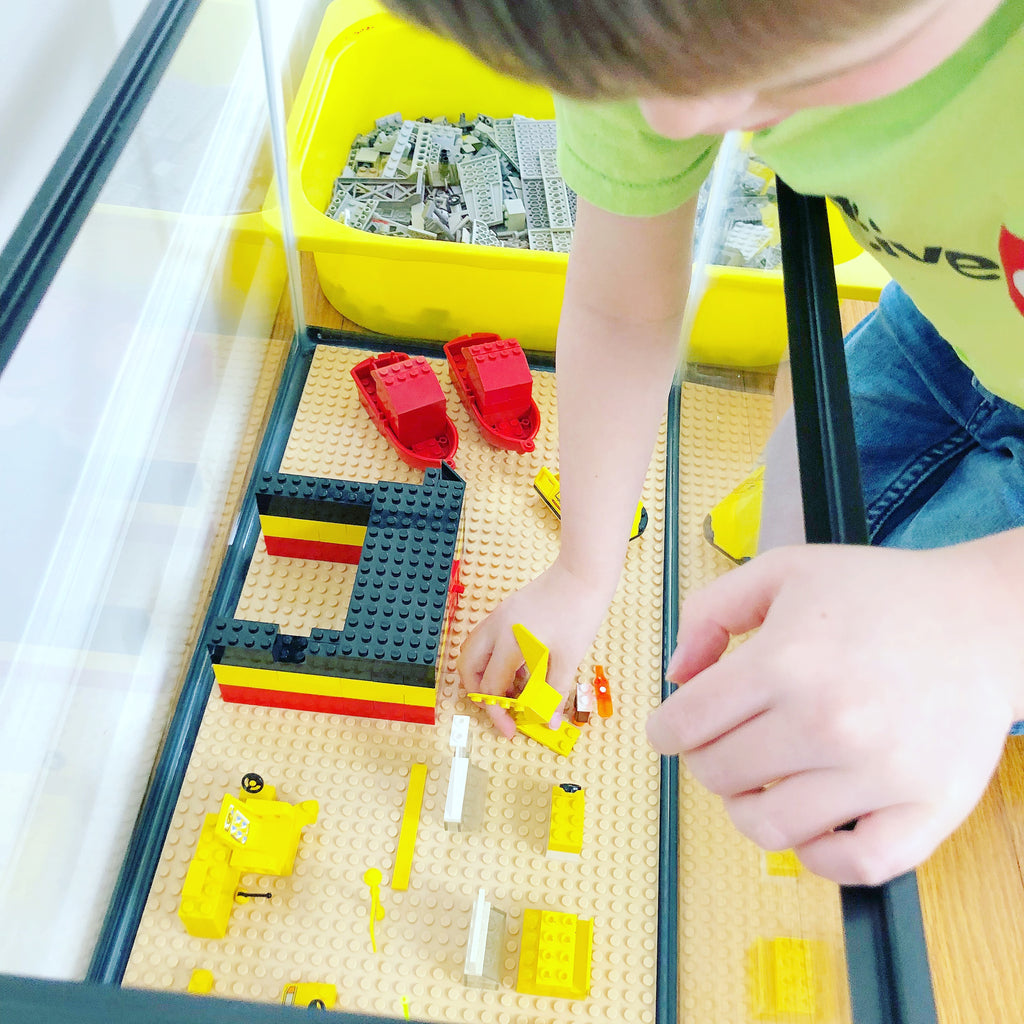 Family STEAM Challenge: DIY LEGO Compatible Fish Tank