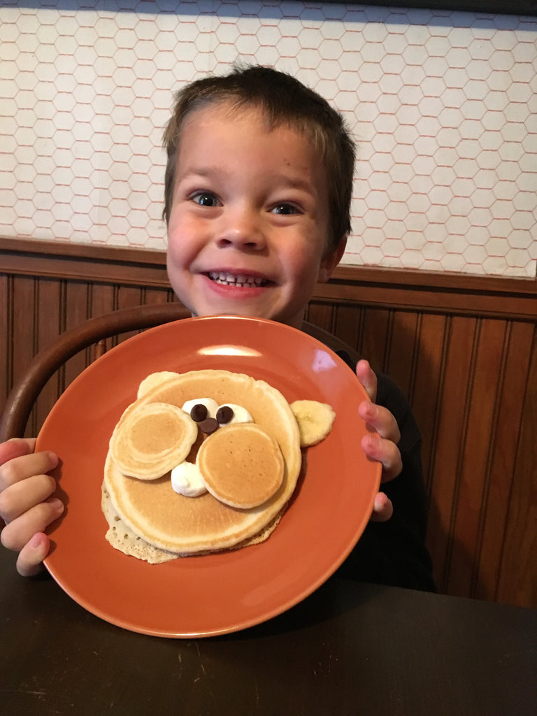 Dana Sue Hinkle's Groundhog Day Pancakes!