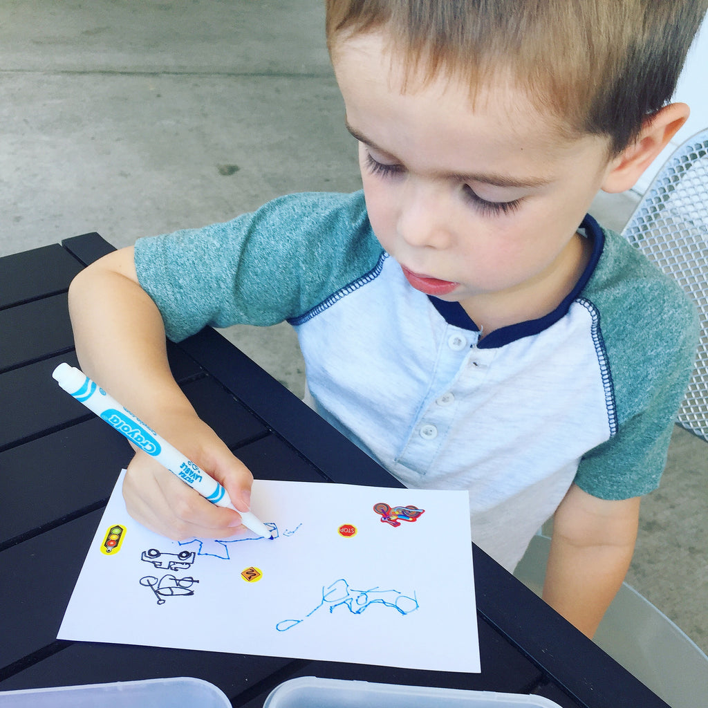 Staying Screen Free: Drawing Activity Box
